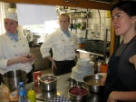 Chef Training at Elements Restaurant