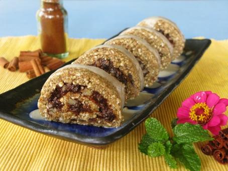 Raw Cinnamon Rolls courtesy of The 30-Minute Vegan
