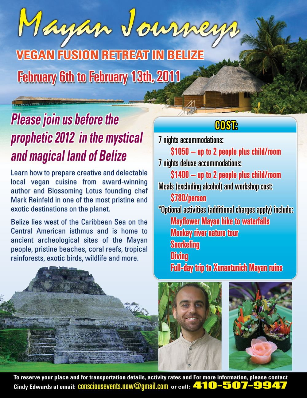 healthy vegan recipes belize vegan workshop retreat